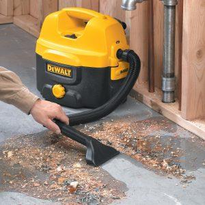 Ремонт строительных пылесосов DeWALT