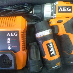Купить шуруповерт AEG BS 12 C2