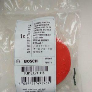 Купить дозатор лески F016L71115 для триммера Bosch