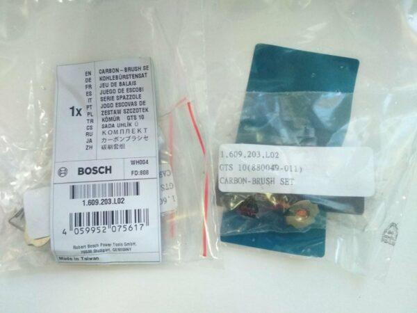 Купить комплект угольный щеток 1609203L02 для Bosch